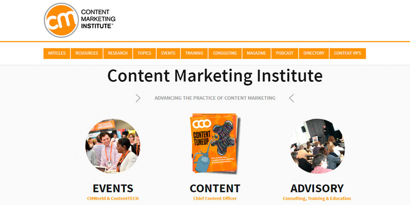 contentmarketinginstitute blog