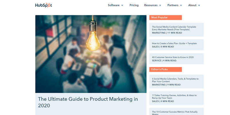 hubspot marketing blog