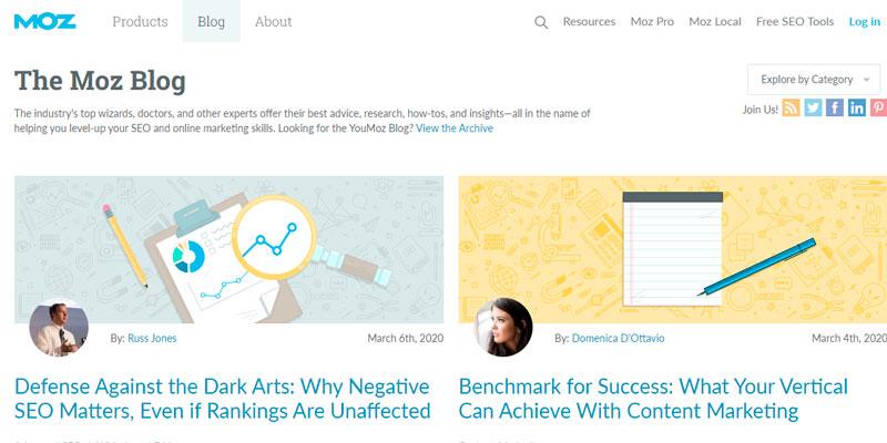moz digital marketing blogs