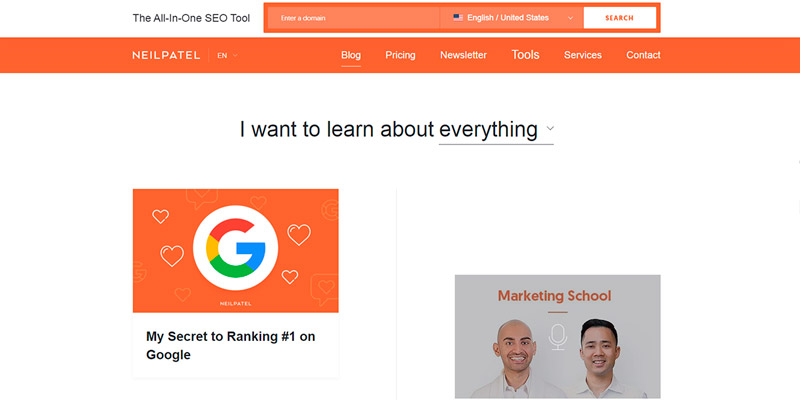 neilpatel digital marketing blogs