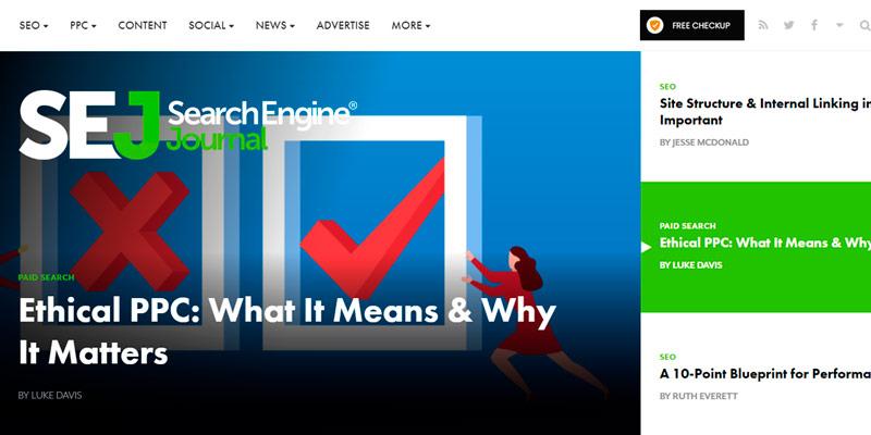 searchenginejournal marketing blog